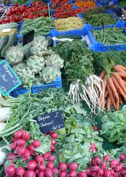 Photograph - Vegetables At German Market by Carol Groenen