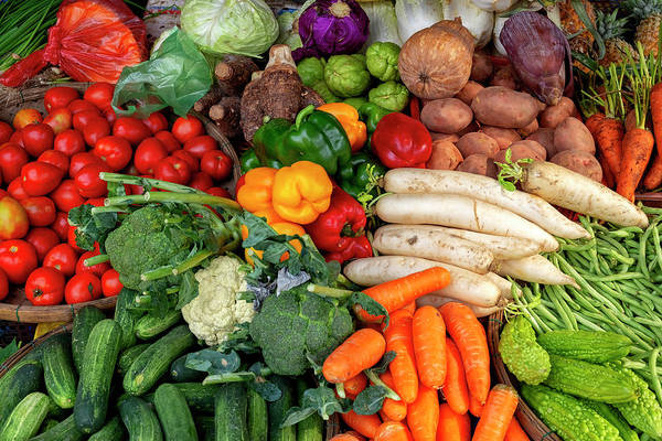 Photograph - Vegetables by Fabrizio Troiani
