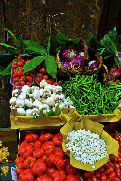 Photograph - Vegetables In Florence by Harry Spitz