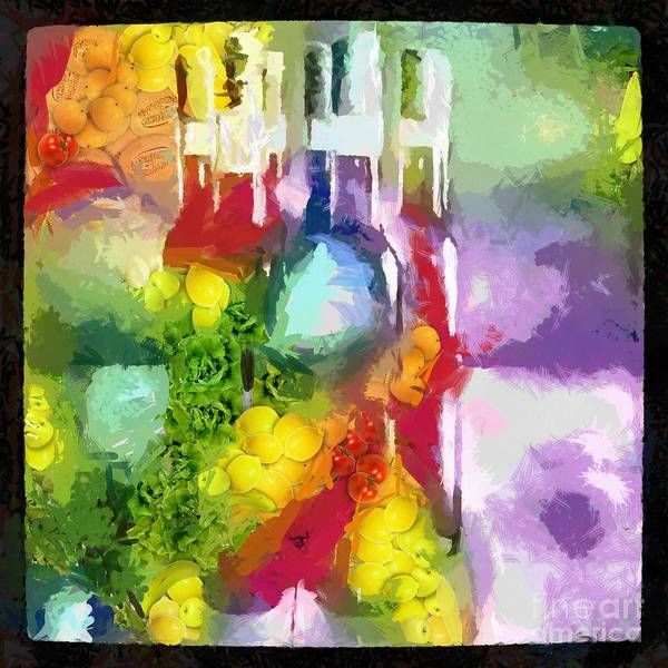Painting - Veggie-licous Winery by Catherine Lott