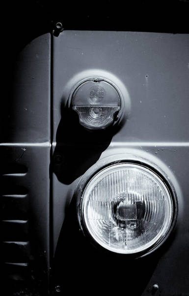Photograph - Vehicle Headlamp Abstract I by John Williams
