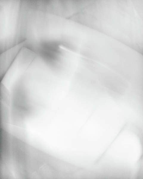 Black And White Abstract Photograph - Veil Of Memory by Scott Norris