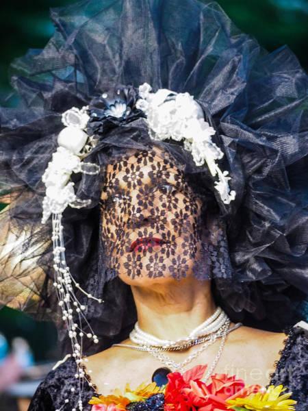 Photograph - Veiled Lady by Robin Zygelman