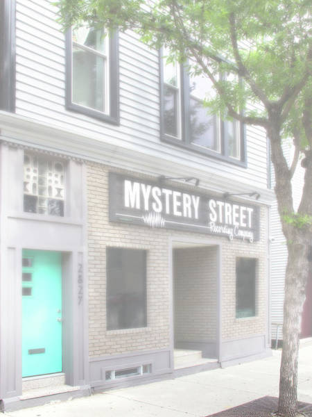 Wall Art - Photograph - Veiled Mystery Mystery Street  by William Dey