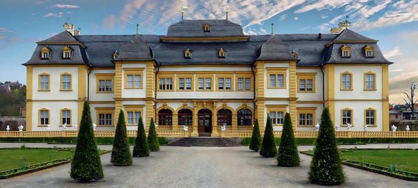 Photograph - Veitshochheim Palace by Anthony Dezenzio