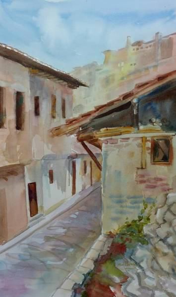 Painting - Veliko Turnavo Detail by Mimi Boothby