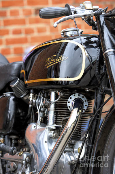 Photograph - Velocette Thruxton  by Tim Gainey