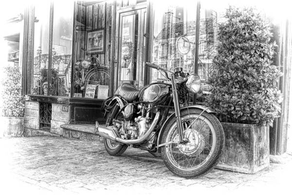 Photograph - Velocette Venom Clubman by Tim Gainey