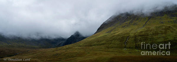 Fairy Pools Photograph - Velvet Hills In The Mist by Wendi Donaldson Laird