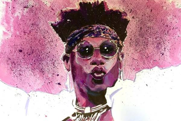 Velveteen Dream Art Print