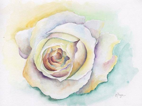 Painting - Vendela Rose by Emily Page