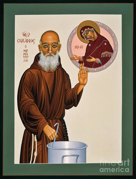 Venerable Fr. Solanus Casey The Healer 038 Art Print
