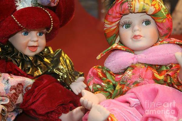 Wall Art - Photograph - Venetian Dolls by Valia Bradshaw