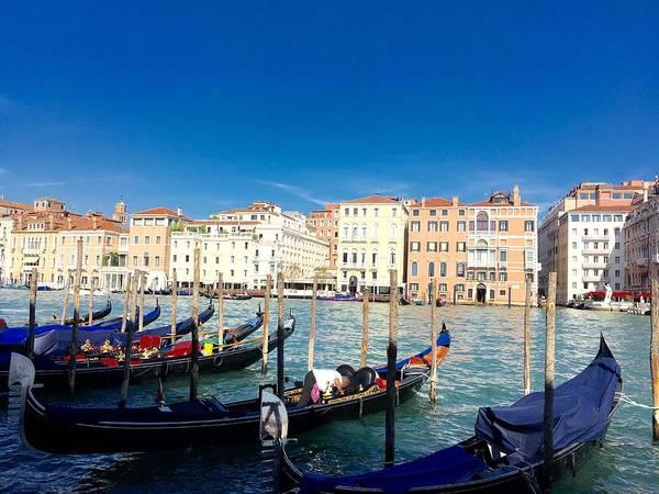 Photograph - Venetian Gondolier Station by Marina Usmanskaya