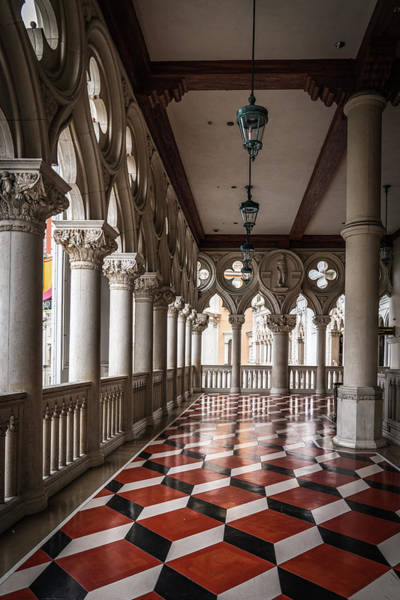 Photograph - Venetian Hallway by Framing Places