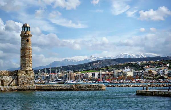 Photograph - Venetian Harbor View by Anthony Dezenzio