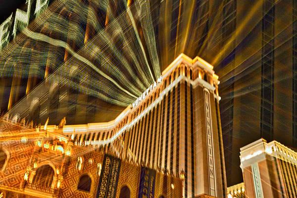 Photograph - Venetian Hotel Abstract - Las Vegas by Stuart Litoff