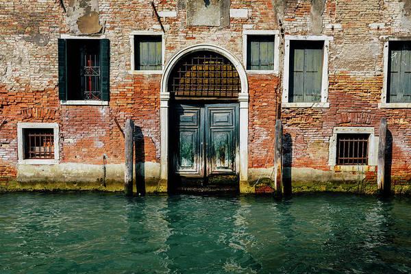 Venetian House On Canal Art Print