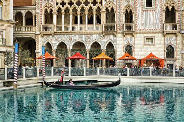 Photograph - Venetian Las Vegas by Tatiana Travelways