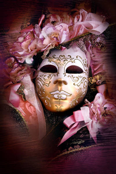 Wall Art - Photograph - Venetian Mask by John Warren