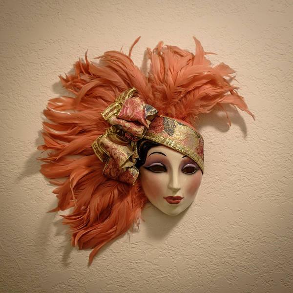 Gra Photograph - Venetian Masks by Louis Ferreira