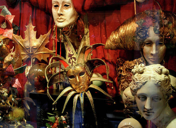 Photograph - Venetian Masks by Vicki Hone Smith