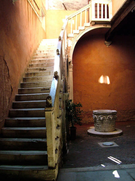 Photograph - Venetian Stairway by Donna Corless