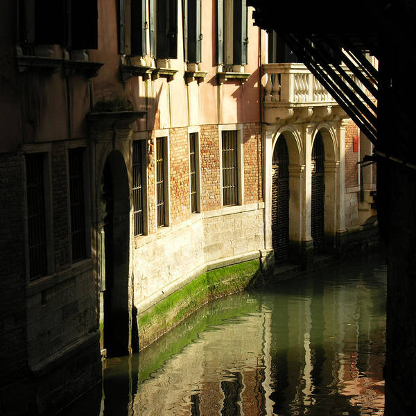 Wall Art - Photograph - Venetian Thoroughfare - 1 Of 3 by Alan Todd