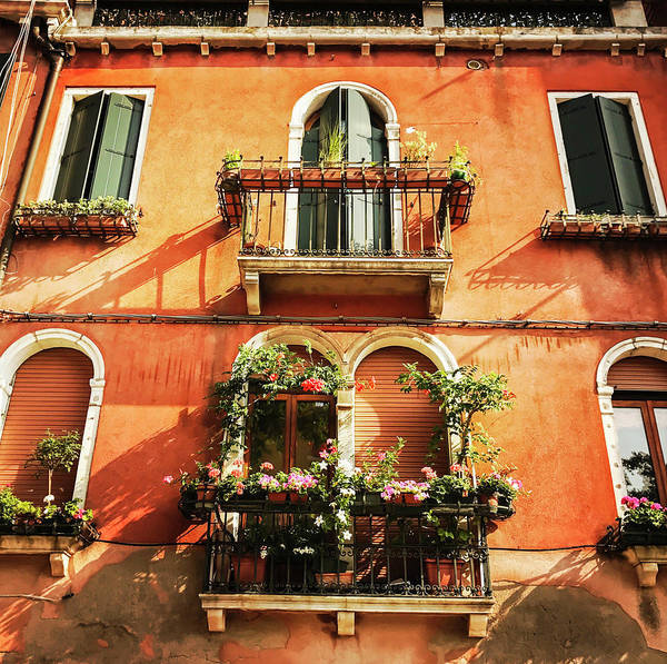 Photograph - Venetian Windows by Alessandro Della Pietra