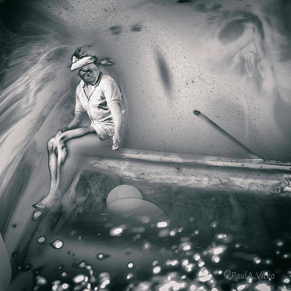 Photograph - Venezuelan River Head Shift.... by Paul Vitko
