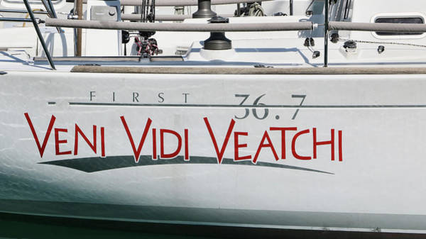 Photograph - Veni Vidi Veatchi by Allen Beatty