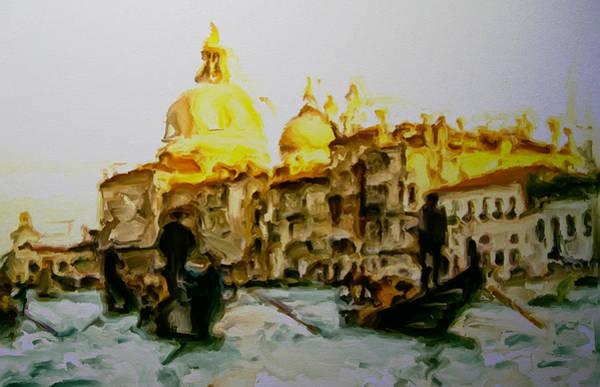 Apostolic Palace Wall Art - Mixed Media - Venice 12a by Brian Reaves