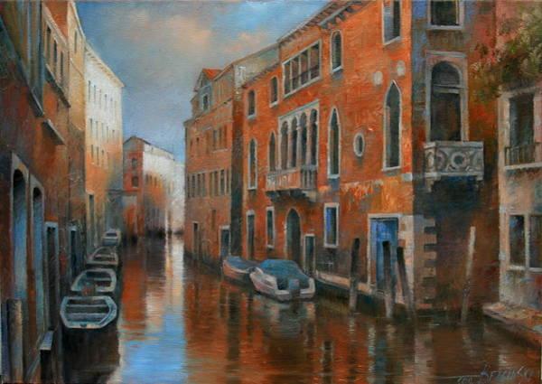 City Landscape Wall Art - Painting - Venice by Arthur Braginsky