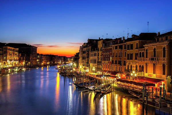 Wall Art - Photograph - Venice At Twilight by Andrew Soundarajan