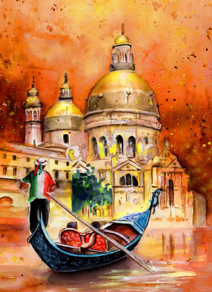 Painting - Venice Authentic by Miki De Goodaboom