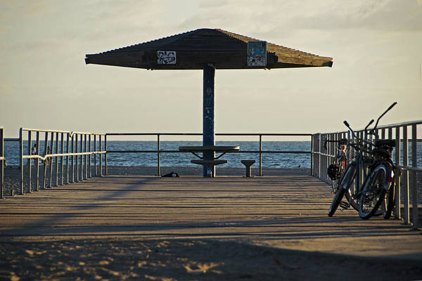 Photograph - Venice Beach Boardwalk Venice Beach Ca by Devin McGuire