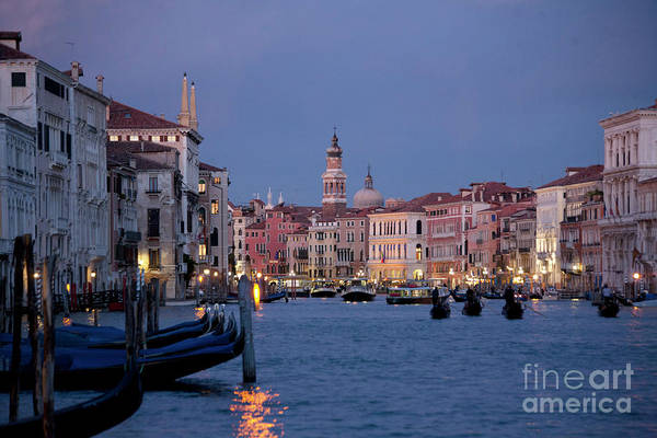 Venice Blue Hour 2 Art Print