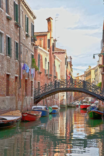 Venice Bridge Crossing 5 Art Print