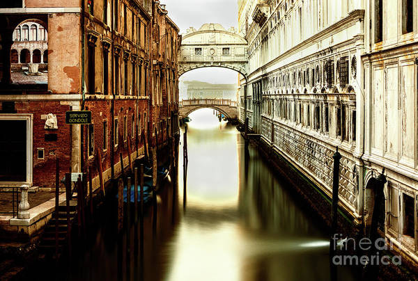Photograph - Venice Bridge Of Sighs by Miles Whittingham
