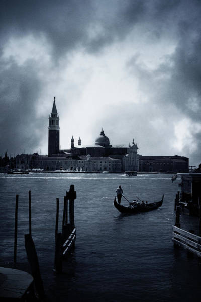 Gondola Photograph - Venice by Cambion Art
