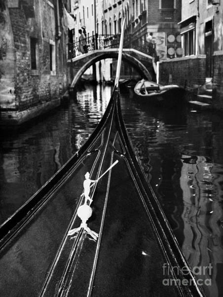 Painting - Venice: Canal, 1969 by Granger