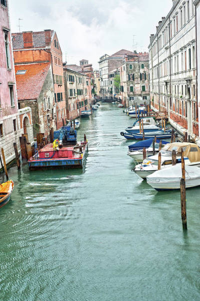 Photograph - Venice Canal by Jean Gill