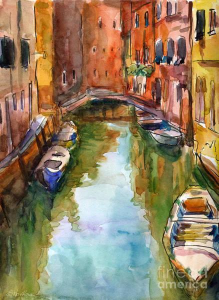 Painting - Venice Canal Painting by Svetlana Novikova