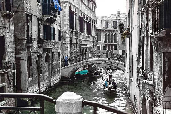Photograph - Venice by Cat Connor