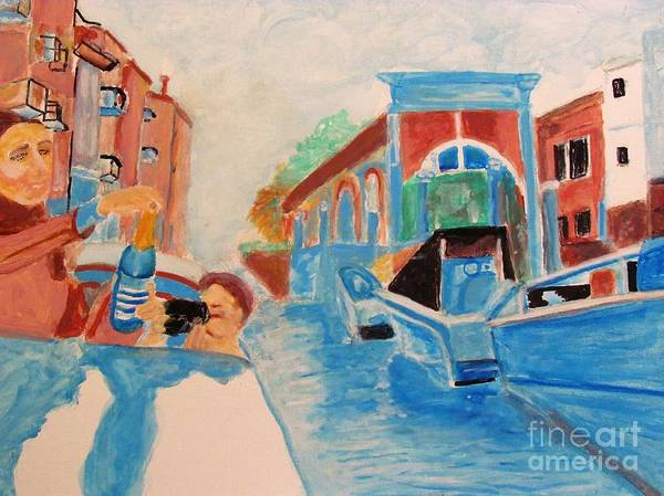 Painting - Venice Celebration by Stanley Morganstein
