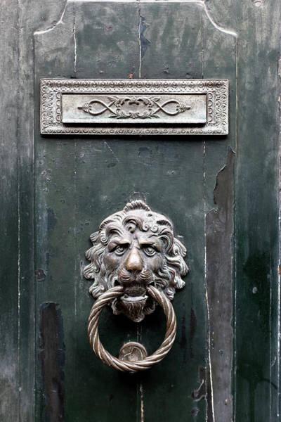 Photograph - Venice Door Knocker by Georgia Fowler
