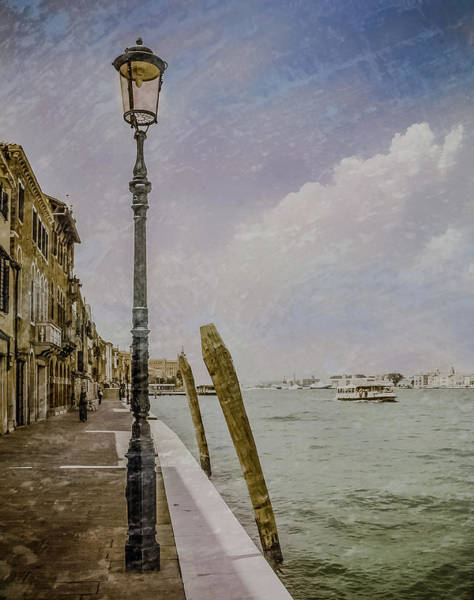 Photograph - Venice, Italy - Fondamenta by Mark Forte