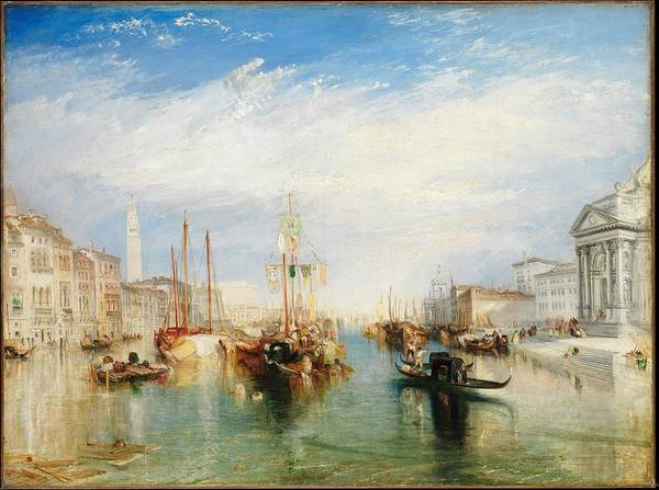 Painting - Venice From The Porch Of Madonna Della Salute By Turner by William Turner