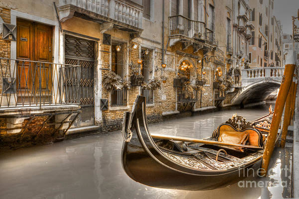 Photograph - Venice Gold by David Birchall