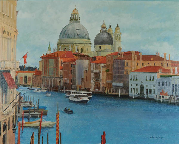 Painting - Venice Grand Canal I by E Colin Williams ARCA